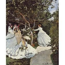MONET. Mujeres en el jardín
