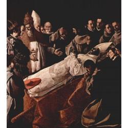 ZURBARÁN, Exposición del cuerpo de San Buenaventura