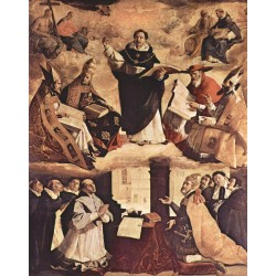 ZURBARÁN, Apoteosis de Santo Tomás de Aquino