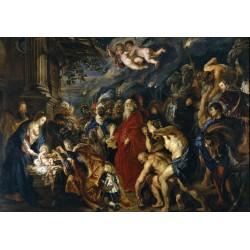 RUBENS, La adoración de los Reyes Magos