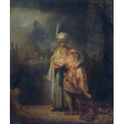 REMBRANDT, David despidiéndose de Jonatán