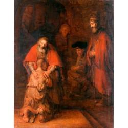 REMBRANDT, El retorno del hijo pródigo