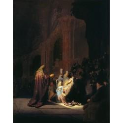 REMBRANDT, Simón en el templo