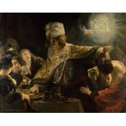 REMBRANDT, Banquete de Beisasar