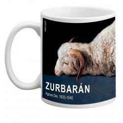 """ZURBARÁN. """"Agnus Dei"""". Mug"""