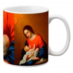 """ZURBARÁN. """"Virgen y niño"""". Mug"""