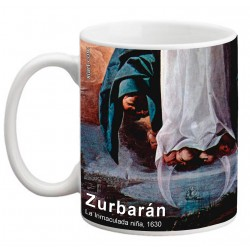 "ZURBARÁN. ""La Inmaculada niña"". Mug"