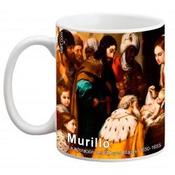"""MURILLO, """"La adoración de los Reyes Magos"""". Mug"""