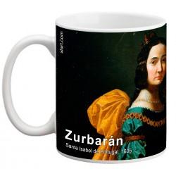 "ZURBARÁN. ""Santa Isabel de Portugal"". Mug"
