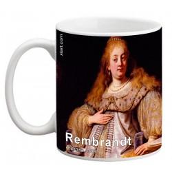 """REMBRANDT, """"Artemisa"""" Mug"""