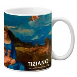 "TIZIANO, ""Virgen Aldobrandini"" Mug"