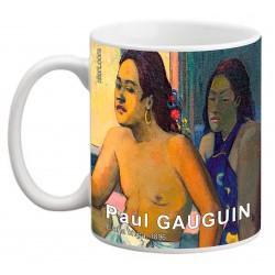 """Paul GAUGUIN. """"Eiaha ohipa"""". Mug"""