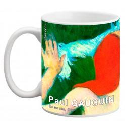 "Paul GAUGUIN. ""En las olas"". Mug"