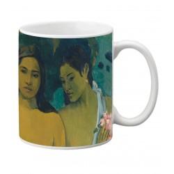 Mug GAUGUIN. Dos mujeres tahitianas. 1899