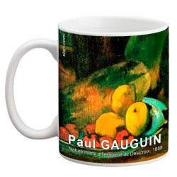 """Paul GAUGUIN. """"Nature morte à l'esquisse de Delacroix"""". Mug"""