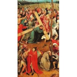 EL BOSCO, Cristo con la cruz a cuestas