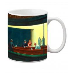 HOPPER. Nighthawks. Mug