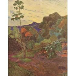 GAUGUIN.Végétation Tropicale, Martinica