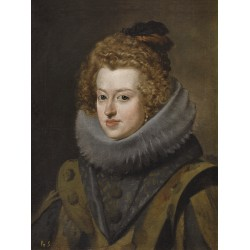 VELÁZQUEZ. Retrato de la infanta doña María, reina de Hungría