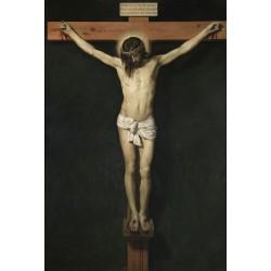 VELÁZQUEZ. Cristo crucificado.
