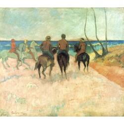GAUGUIN. Cavaliers sur la plage I