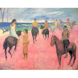 GAUGUIN. Cavaliers sur la plage II