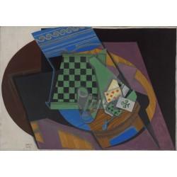 JUAN GRIS. Damier et cartes à jouer