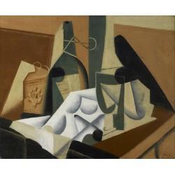 JUAN GRIS. The White Tablecloth