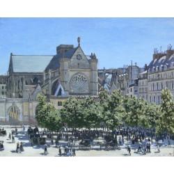 MONET. Saint-Germain-l'Auxerrois Paris