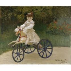 MONET.  Jean Monet on his Hobby Horse