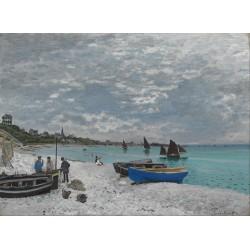 MONET. La playa de Sainte-Adresse