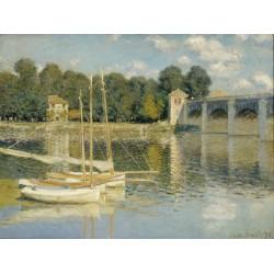 MONET. The Argenteuil Bridge