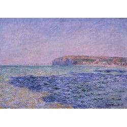 MONET. Shadows on the Sea. The Cliffs at Pourville