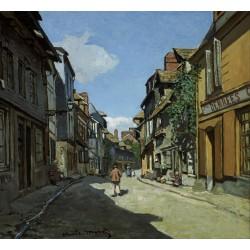 MONET. Rue de la Bavole, Honfleur