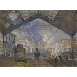 MONET. La gare Saint-Lazare