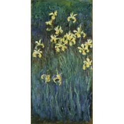 MONET. Yellow Irises