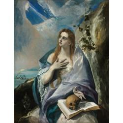 EL GRECO. Magdalena penitente