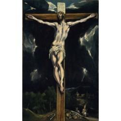 EL GRECO. Cristo crucificado