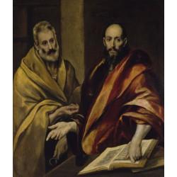 EL GRECO. Santos Pedro y Pablo