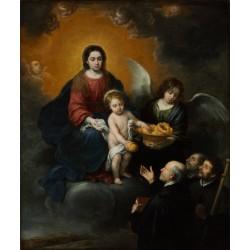 MURILLO, El Niño Jesús distribuyendo pan a los peregrinos