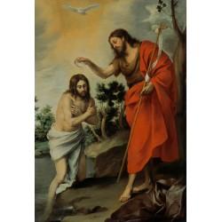MURILLO, Bautismo de Cristo
