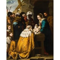 MURILLO, La adoración de los Reyes Magos
