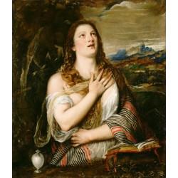 TIZIANO, La Magdalena penitente