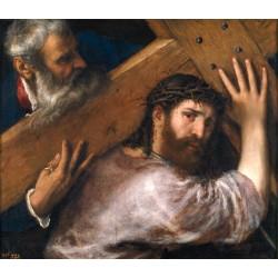 TIZIANO, Cristo con la Cruz a cuestas