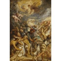 RUBENS, El martirio de San Livinus