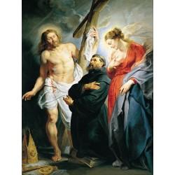 RUBENS, San Agustín entre Cristo y la Virgen