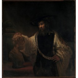 REMBRANDT, Aristóteles contemplando el busto de Homero