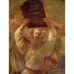 REMBRANDT, Moisés rompiendo las Tablas de la Ley