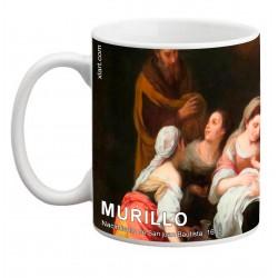 "MURILLO, ""Nacimiento de San Juan Bautista"". Mug"