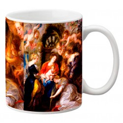 """RUBENS, """"Coronación de Santa Catalina"""" Mug"""
